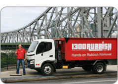 Rubbish Removal Brisbane with 1300RUBBISH