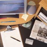 Rubbish removers and rubbish removal cluttered desk