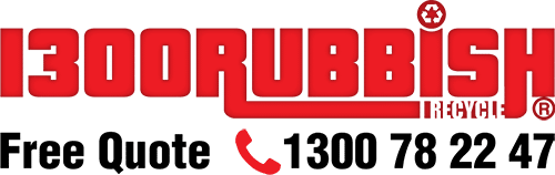 1300RUBBISH Logo
