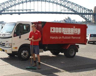 Removing Rubbish in Paddington